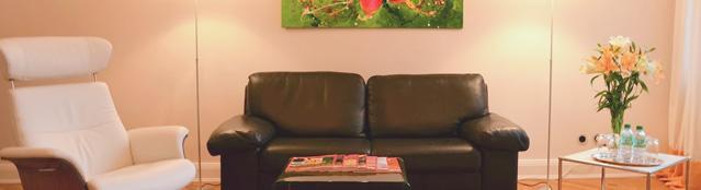 Wartebereich Couch